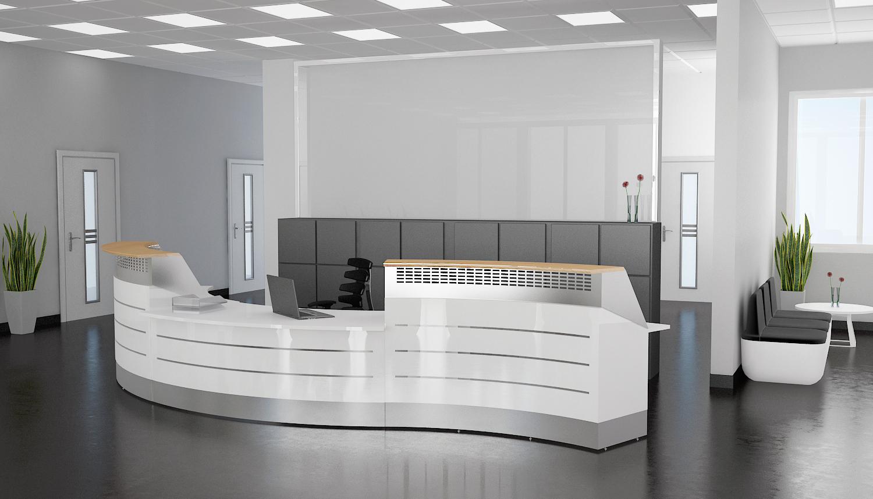 Gemütlich Büromöbel Empfangstheke Ideen - Innenarchitektur ...