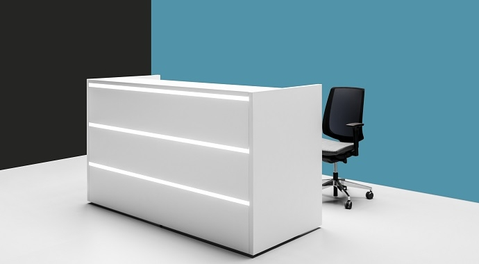 Empfangstheken und Empfangstresen, Büromöbel, verschiedene ...